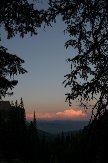 Mill Creek Valley at Sunset || Gunnison National Forest, CO