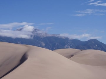 Mt Herard from Great Sand Dunes NP || Colorado