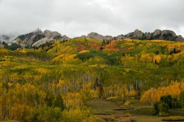 Ruby Range in Fall    Elk Mountains, CO