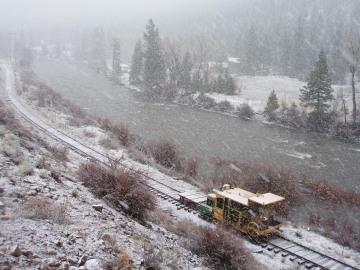 Snowy Tracks || South Fork of the Rio Grande