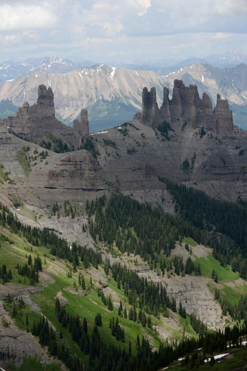 The Castles || Gunnison National Forest, CO