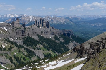 The Castles from Storm Pass || Gunnison National Forest, CO