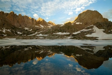 Twin Lakes Reflection 2    Chicago Basin, CO