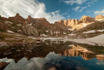 Twin Lakes Reflection || Chicago Basin, CO