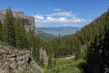 Valley of Mill Creek || West Elk Wilderness, CO