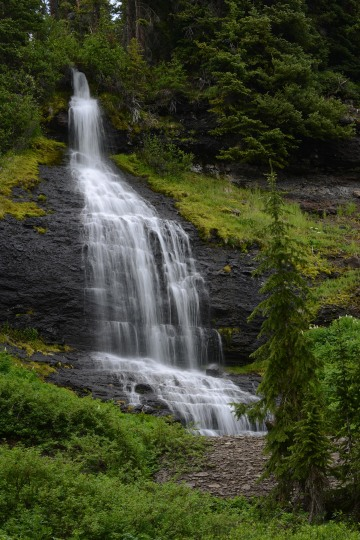 Waterfall along Mill Creek || Gunnison NF, CO