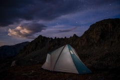 Camping under the Stars || Horn Fork Basin, CO