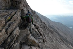 Climbing Longs Peak || Rocky Mountain NP, CO