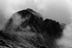 Columbia Point BW || Sangre de Cristo Mountain Range