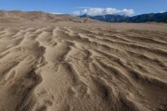 Recent Rain in Dunes  || Great Sand Dunes NP, CO