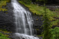 Waterfall along Mill Creek    Gunnison NF, CO