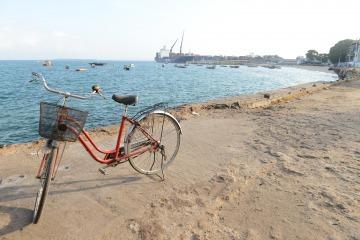 Biking in Stone Town || Zanzibar