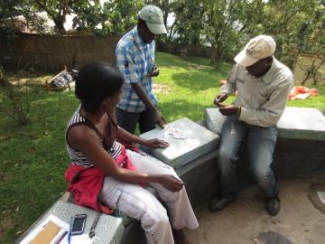 Cards in Nkuringo || Nkuringo Bwindi Gorilla Lodge, Uganda