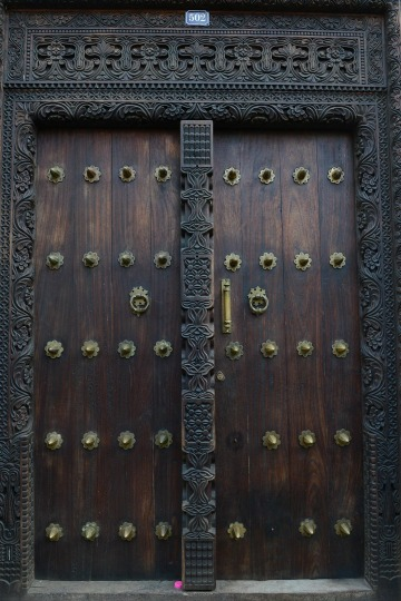 Doors of Stone Town || Zanzibar