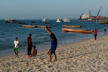 Evening Exercise || Zanzibar