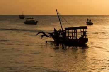 Evening Swim || Zanzibar, Unguja
