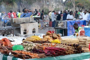 Forodhani Garden Night Market || Stone Town, Zanzibar