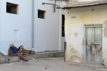 Poverty in the Streets of Stone Town || Zanzibar