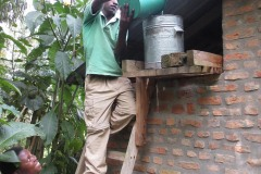 Preparing a Warm Shower || Kisoro, Uganda