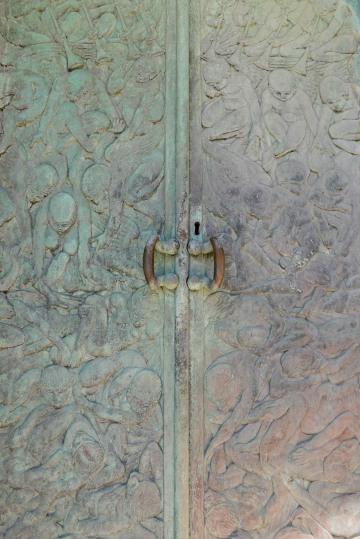 Ornate Door || Split, Croatia