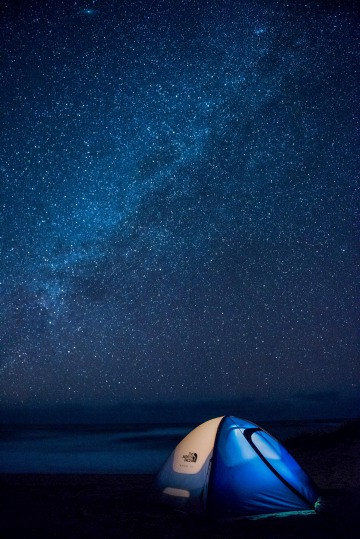 Camping under the Stars || Polihale Beach
