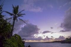 Black Sand Beach Sunrise || Waiʻanapanapa, Hawaii