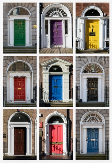 Doors of Dublin || Ireland