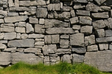 Stone Walls from Dún Aonghasa || Aran Islands