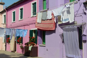 Clothes Hanging in Murano || Venice