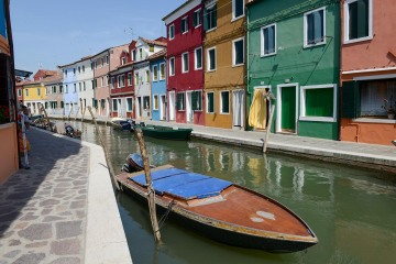 Colorful Canal in Murano || Venice
