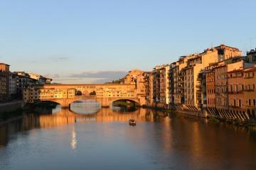 Ponte Vecchio at Sunset || Florence