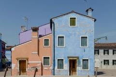Colorful Homes in Murano    Venice