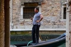 Gondolier || Venice