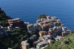 Hillside View of Manarola || Cinque Terre