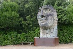 Tindaro Screpolato in Boboli Gardens    Florence