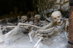 Skeletal Remains among Ancient Ruins || Herculaneum, Italy