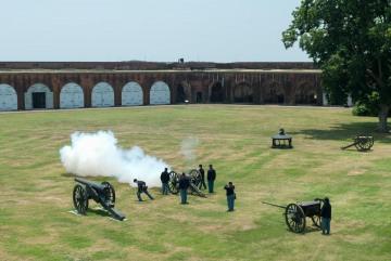 Civil War Reenactment at Fort Pulaski || Savannah