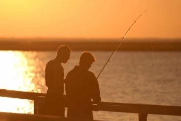 Fishing on the Dock || Savannah, GA