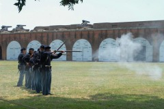 Civil War Reenactment at Fort Pulaski || Savannah