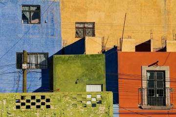 Colorful Pained Houses || Zacatecas