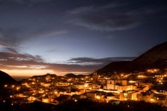 Real de Catorce at Twilight || San Luis Potosí