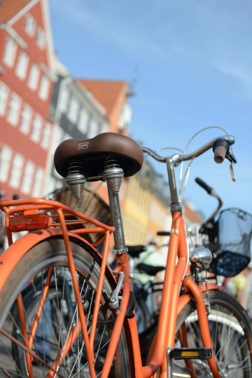 Bicycle in Nyhavn || Copenhagen