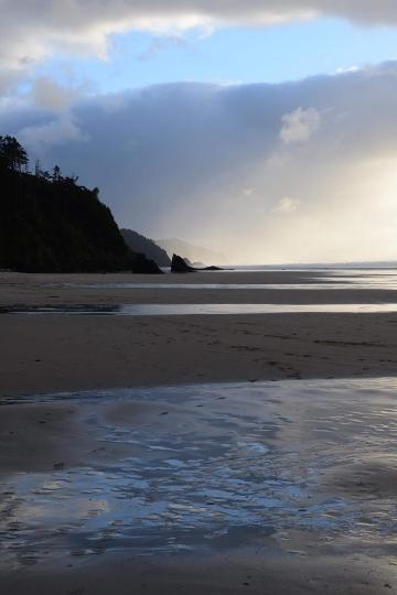 Hug Point State Recreation Site || Oregon Coast Hwy