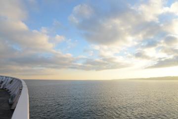 MV Coho Passenger - Vehicle Ferry on the Salish Sea || Port Angeles, WA