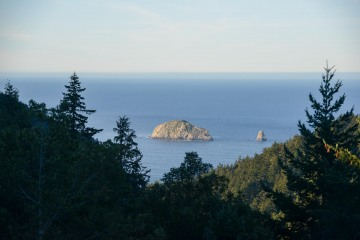 Pacific Vistas from Rogue River-Siskiyou National Forest    Oregon