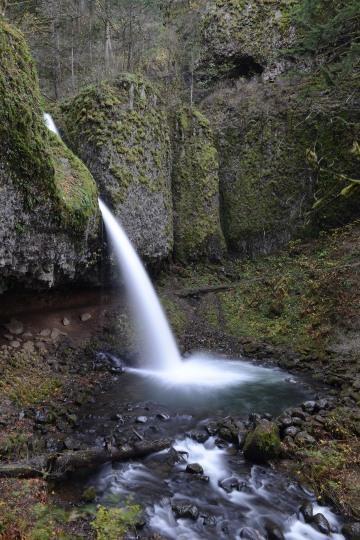 Ponytail Falls || Columbia River Gorge, Oregon