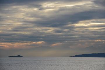 Storm over Salish Sea || Rosario Straigt, Washington