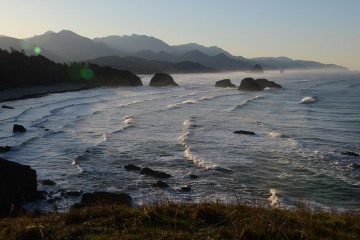 Sunrise at Ecola State Park || Cannon Beach, OR