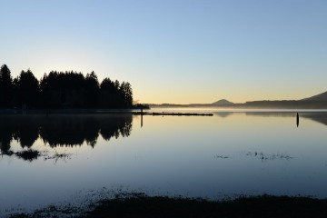 Sunset over Lake Quinault || Olympic National Park, WA