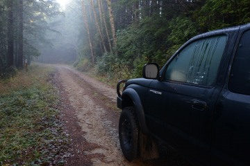 Toyota Tacoma in Rogue River-Siskiyou National Forest || Oregon